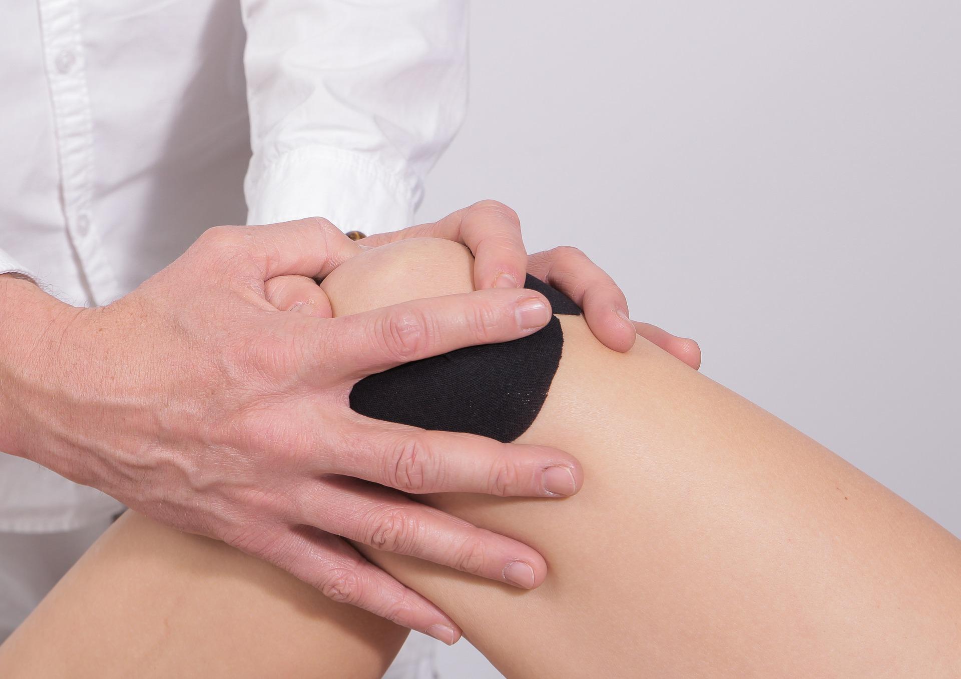 Medical tape, elastisch tape, sportblessures, knie blessure, schouder blessure, tennis elleboog