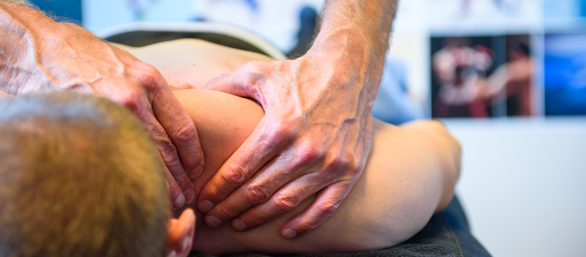 Schoudermassage bij Pijnklachten